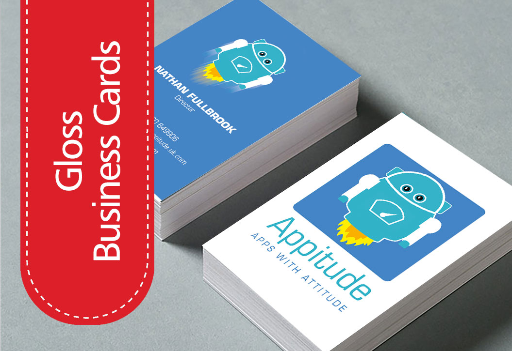 Nectarine Print Business Card Print and Design