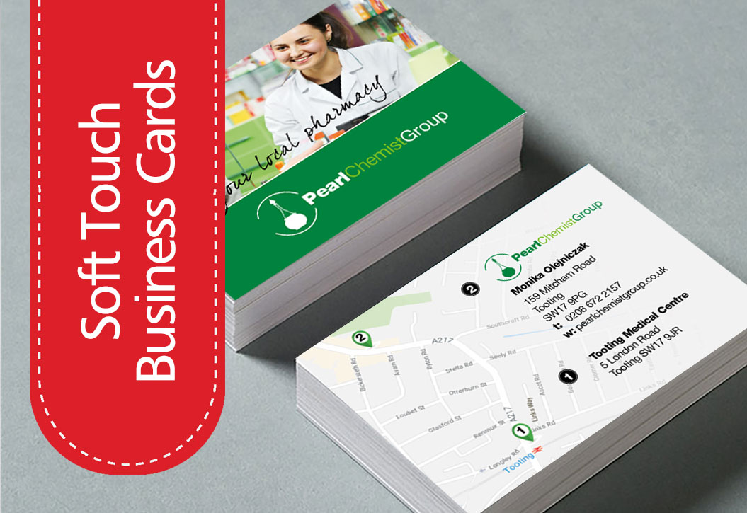 Soft Touch Business Cards printing