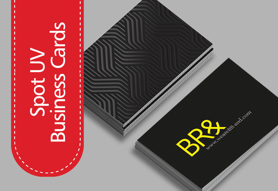 Spot UV Business Cards printing