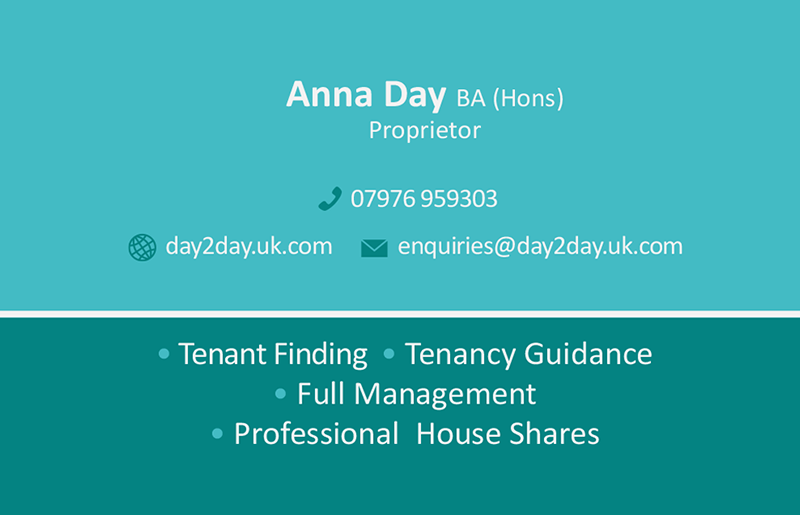 Letting Agency Business Cards