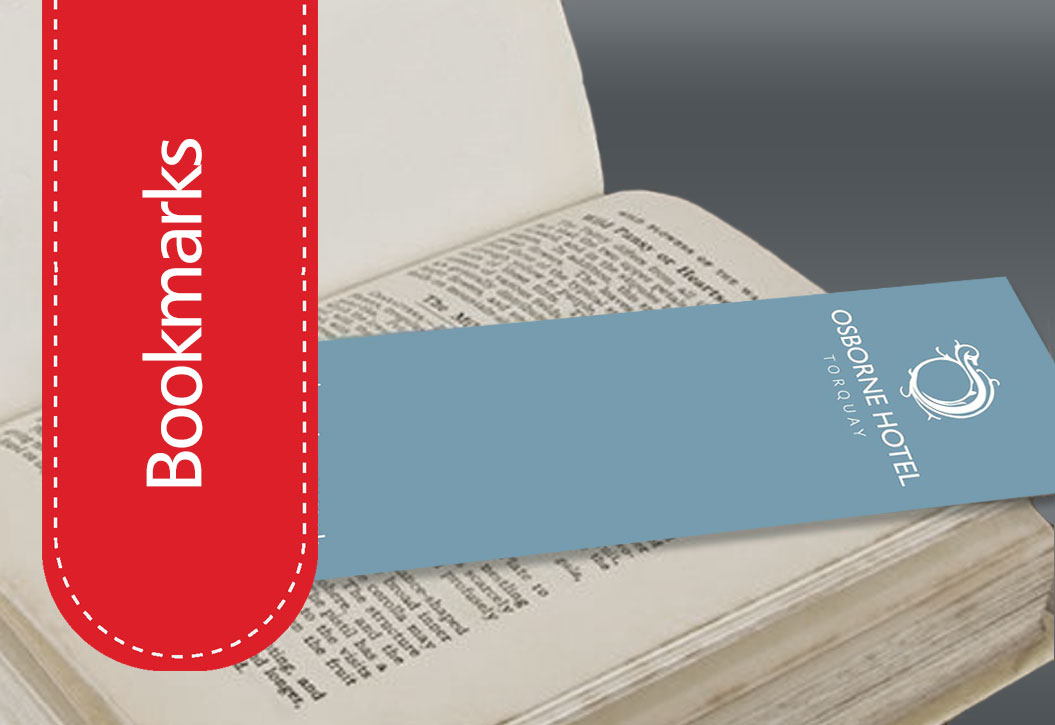 Hotel Bookmarks printing