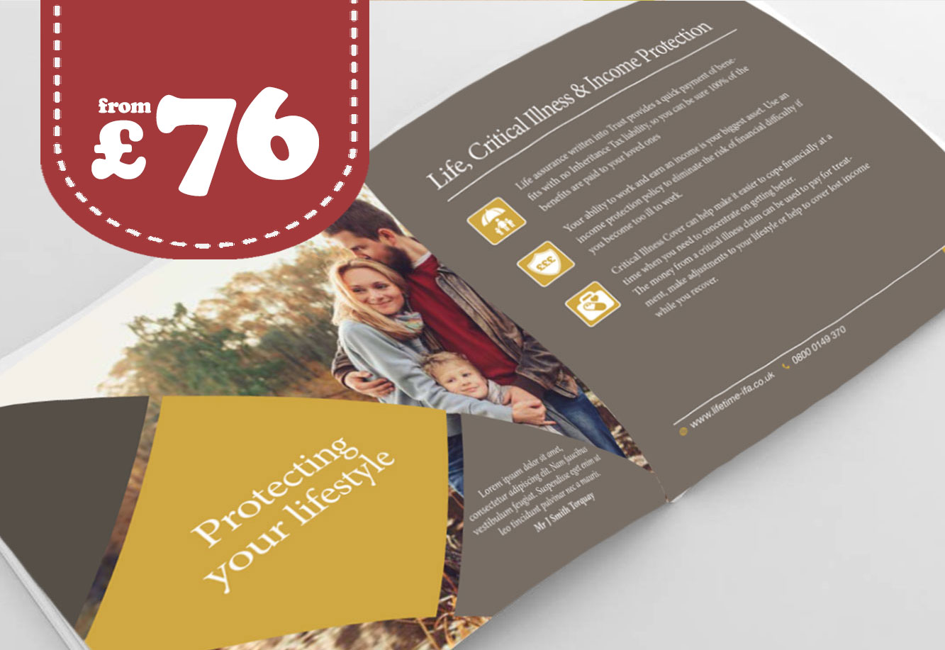 Brochure Printing and design London