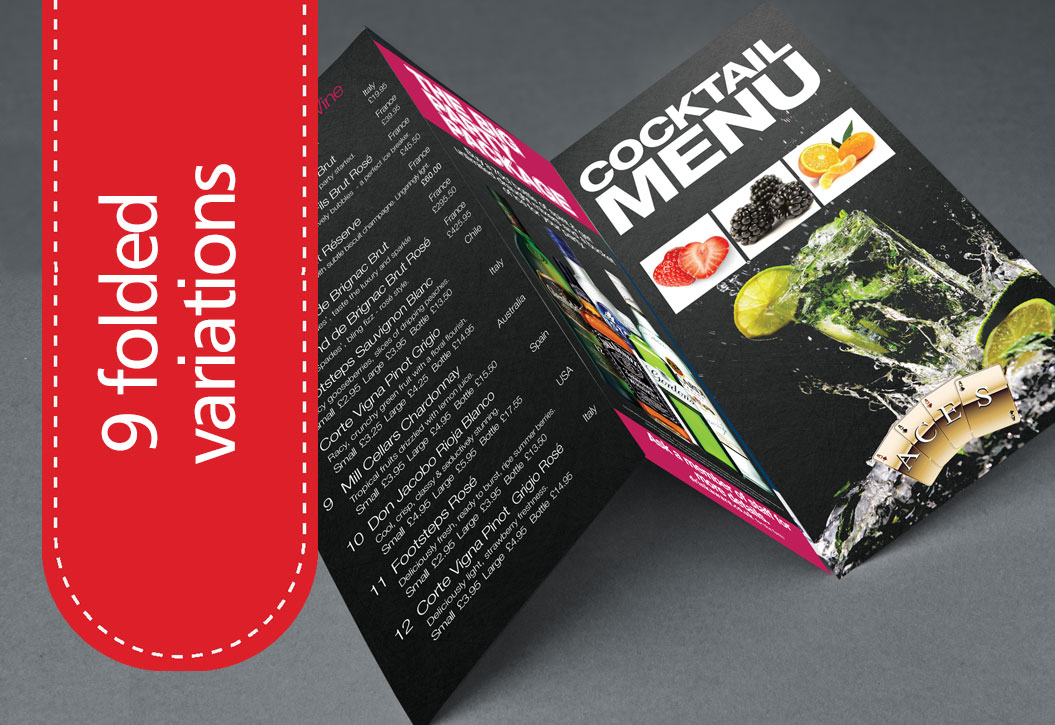 Folded Leaflet and Flyers Printing