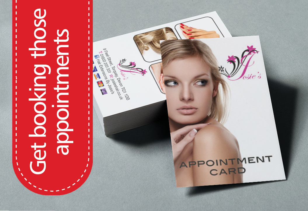 Full Colour Appointment Cards printing